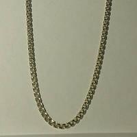 Цепь серебряная, светлое серебро, бисмарк, 25.3 грамм, 550 мм