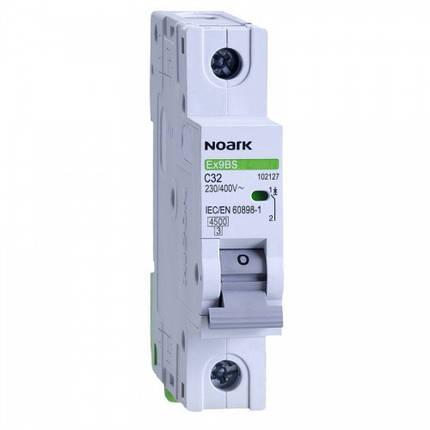 Автоматичний вимикач 6 kA, хар-ка C, 63 A, 1 полюс, фото 2