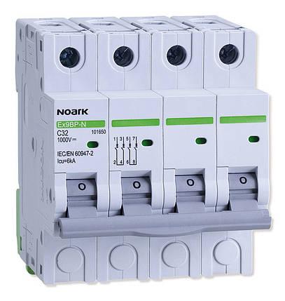 Автоматичний вимикач 6 kA, хар-ка C, 13 A, 4 полюси, фото 2
