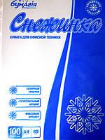 """Бумага для принтера 100 листов """"Снежинка"""""""