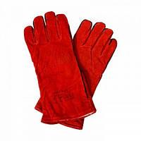 Перчатки сварщика (краги спилковые утепленные), фото 1