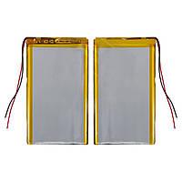 Батарея (АКБ, аккумулятор) для китайских планшетов/телефонов, универсальный, 2000 mAh, 52х103х3,4 мм
