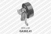 Натяжной ролик, поликлиновой ремень Ford 1089679 (производство NTN-SNR ), код запчасти: GA352.41