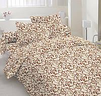 Евро  комплект спальногопостельного белья из бязь-голд для гостиниц