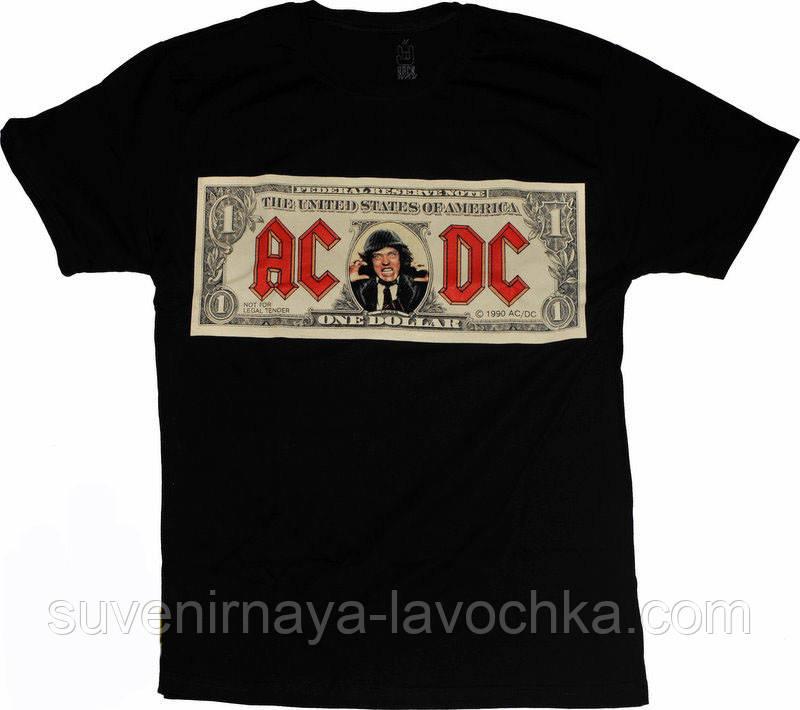 Рок футболка AC/DC (Dollar)