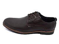 Мужские туфли натуральная кожа Multi Shoes РL Stanley Brown Размер:  41 42 43 44 45