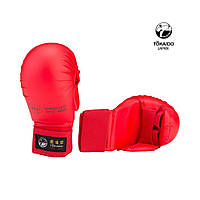 Перчатки для каратэ Tokaido (с защитой большого пальца) Цвет красный