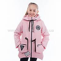 """Детская  куртка  демисезонная для девочки """"Виленна"""" с капюшоном,новинка 2017года, фото 1"""