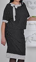 """ПП Украина Нарядное женское платье """"Стиль"""" ,  нарядное платье до  62  размера"""