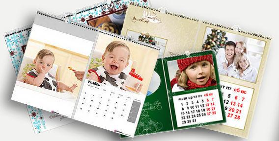 Календарь настенный на заказ