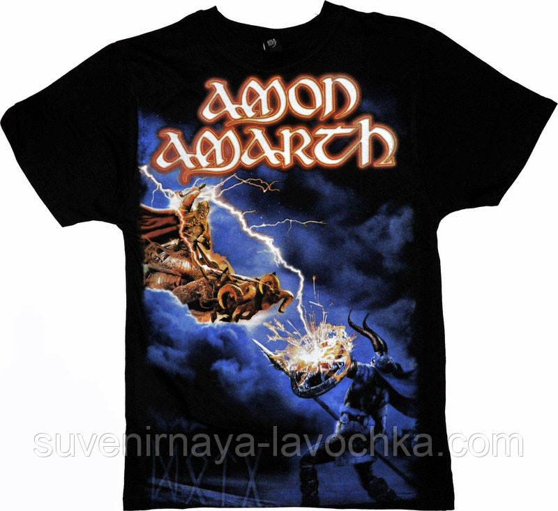 Рок футболка Amon Amarth. Deceiver of the Gods