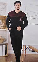 Теплый мужской домашний костюм Турция L