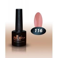 Гель-лак Nice for you № 116 (нюдовый) 8.5 мл