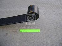 Лист рессоры №1 передн. ГАЗ 3302 1500мм 2-х лист. с сайлент. (производство GAZ ), код запчасти: 3302-2902100-01