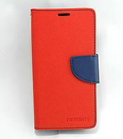Чехол книжка для Meizu M3S / M3 mini боковой с отсеком для визиток, Mercury GOOSPERY красный