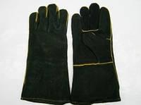 Перчатки сварщика (краги спилковые утепленные)