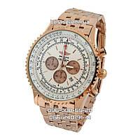 Часы Breitling Navitimer 5148 steel gold/white Chronometre. Класс: AAA, фото 1