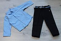 Костюм для мальчика рубашка и брюки р. 92, 98