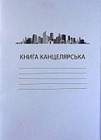 Книга канцелярска 96 листов, газетка линия
