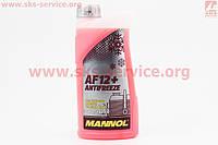 Антифриз  AF12 -40 красный 1 л фирмы MANNOL