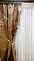 """Готовый комплект штор """"East Legent"""" + тюль белая (Лавр), фото 2"""
