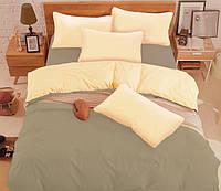 Евро комплект постельного белья микрофибра