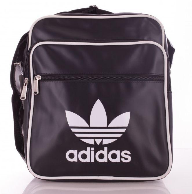 053756dcb1b5 Сумка из кожзама Adidas black 1, черный Реплика - SUPERSUMKA интернет  магазин в Киеве