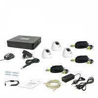Комплект видеонаблюдения Hikvision HD-TVI - 7104-3D