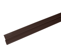 LUXARD Прижимная планка (планка примыкания), коричневая, 2000х85 мм, (0,17 кв.м)