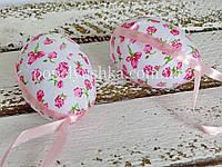 Яйце декоративне рожеве 7*5 см