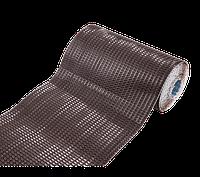 Гофрированная лента LUXARD для примыканий F-2, алюм., коричневая