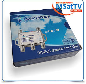 DiSEqC 4x1 Sky Prime sp-8001, фото 2