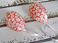 Яйце декоративне коралове 7*5 см