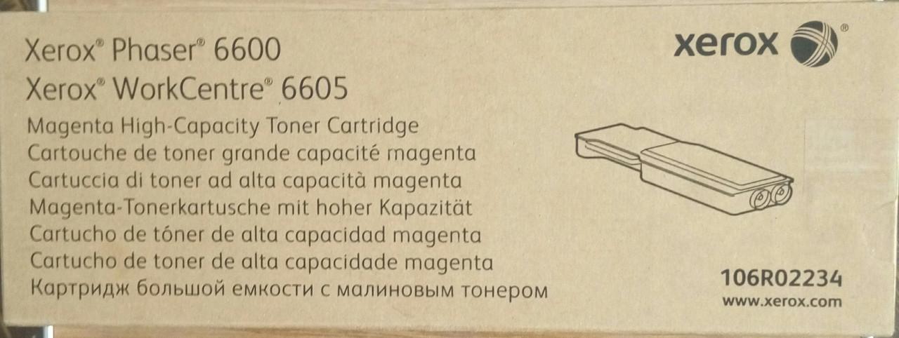 Картридж Xerox PH6600/ WC6605 Magenta (Max) (106R02234), Киев