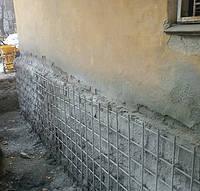 Укрепление и ремонт фундамента