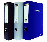 Папка-коробка, A4, 3,7см, на липучке, цвета в асс., 5221, SCHOLZ