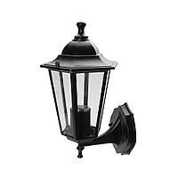 Светильник парковый RIGHT HAUSEN (металл/стекло/черный) 6 граней 60W E27 ВНИЗ  HN-193012