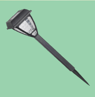 LED Светильник садовый RIGHT HAUSEN SOLAR WHITE ТУМБА 40cm HN-212061   NEW