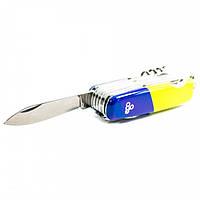 Нож Ego A01.13, синежелтый, фото 1