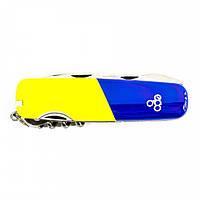 Нож Ego A01.11.1, синежелтый, фото 1