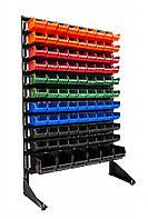 Стелаж для метизних ящиків односторонній 1500мм 96 ящика,Стеллаж для метизных ящиков односторонний 1500мм