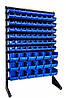 Стелаж односторонній для метизних ящиків 1500мм 81 ящик