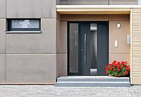 Алюминиевые входные двери ThermoCarbon