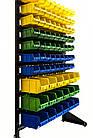 Стеллаж складской 1500 мм 81ящик №2,односторонний стеллаж метизный с контейнерами В/С, фото 3