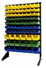 Стеллаж складской 1500 мм 81ящик №2,односторонний стеллаж метизный с контейнерами В/С, фото 7