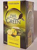 Чай зелений Feel Green (o smaku cytrysowym)