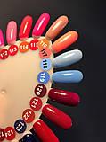 Гель-лак Nice for you № 119 (яскраво-блакитний) 8.5 мл, фото 3