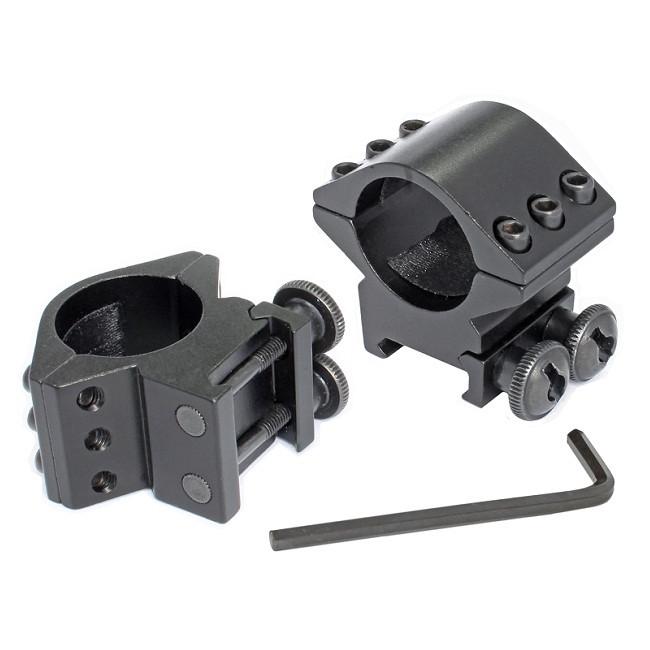 Кріплення на зброю для ліхтаря 25 мм (планка Вівера 11 мм)