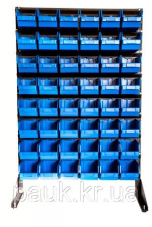 Стелаж для метизних ящиків односторонній 1500мм 48 ящиків,Стеллаж для метизных ящиков односторонний 1500мм  - ООО «ПАУК» в Кропивницком