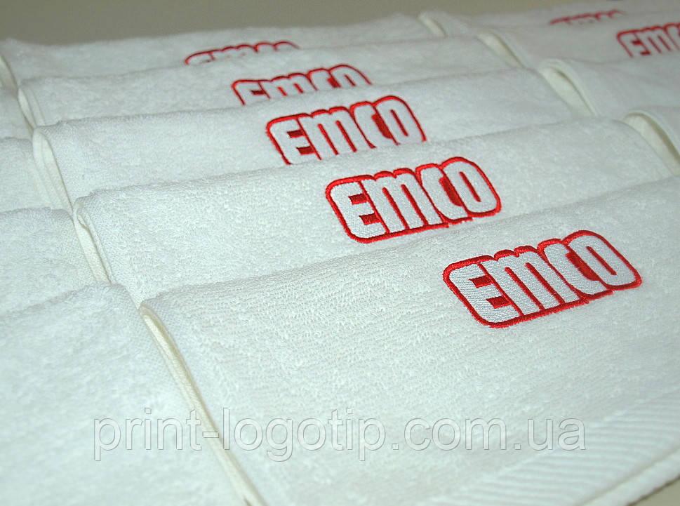 Салфетки с логотипом тканевые